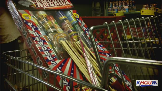 Fireworks Outlet Open In City With Fireworks Ban