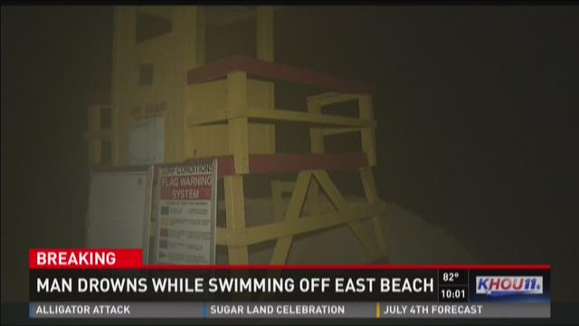 Man drowns while swimming off East Beach