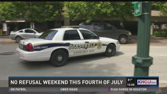 No refusal weekend this Fourth of July