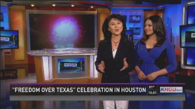 Freedom Over Texas celebration in Houston