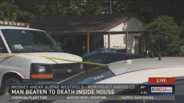 Man beaten to death inside home