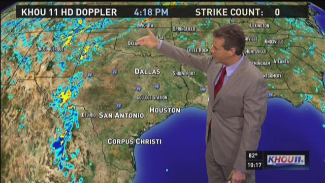 Monday's 10pm forecast with David Paul