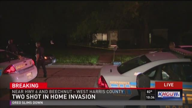 HCSO: Two shot in home invasion