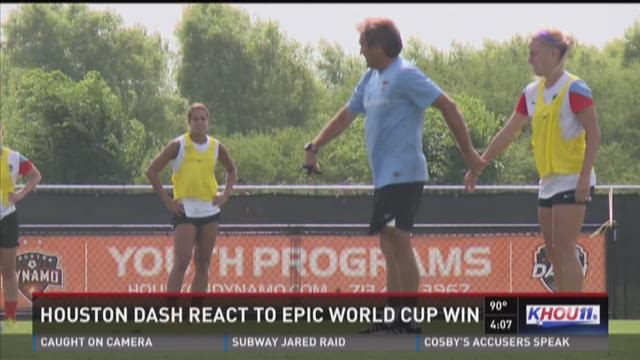Dash members proud of teammates