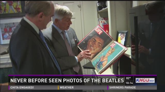 Houston photographer shares never-before-seen pictures of The Beatles
