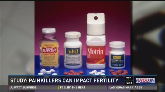 Study: Painkillers can impact fertility
