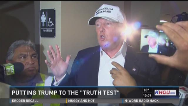 TRUTH TEST: Trump was safer in Laredo than in New York
