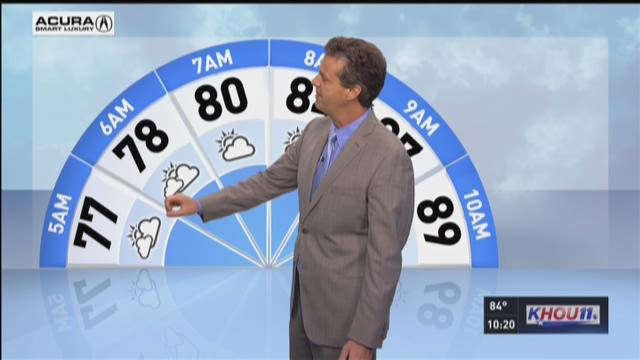 Tuesday's 10pm forecast with David Paul