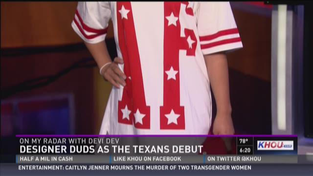 Devi Dev: Football in fashion as Texans training camp starts