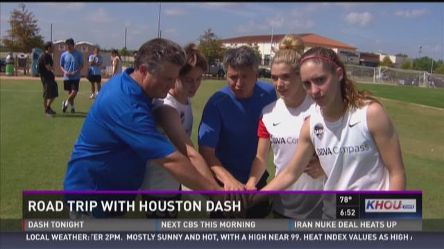 Ron & Darby go Road Trippin' to train with the Dash