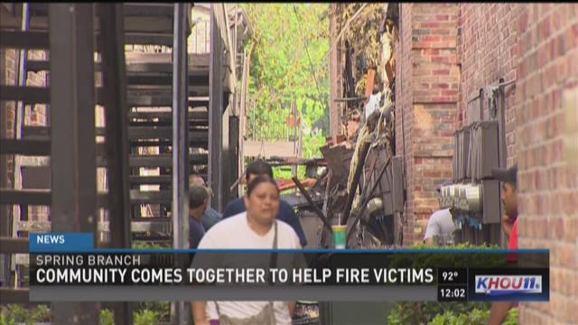 Man arrested, charged in devastating apartment fire