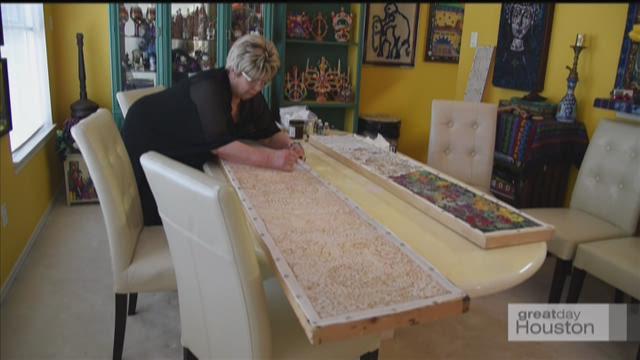 Painting Silk Scarves