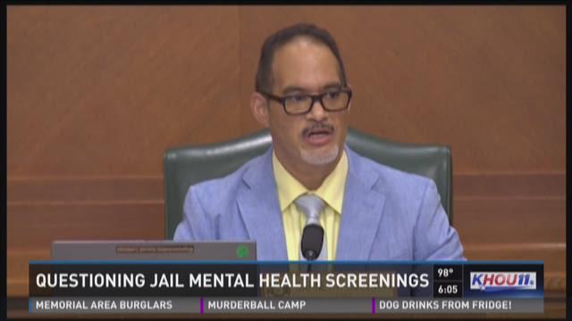 Questioning jail mental health screenings