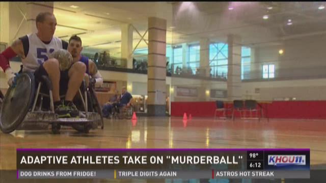 """Adaptive athletes take on """"muderball"""""""