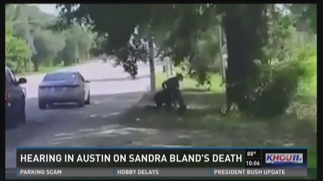 Hearing in Austin on Sandra Bland's death