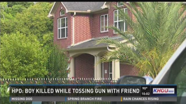 HPD: Boy killed while tossing gun with friend