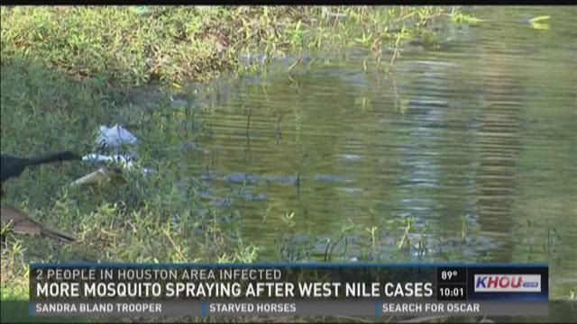 More mosquito spraying after West Nile virus