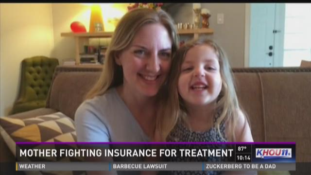 Mother fighting insurance for treatment