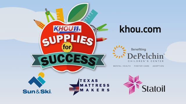 "KHOU 11 ""Supplies for Success"" drive"