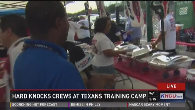 "Texans tackle ""Hard Knocks"""