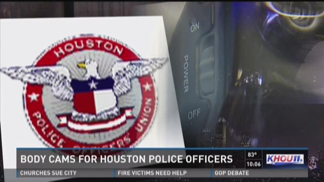Body cams for Houston police officers