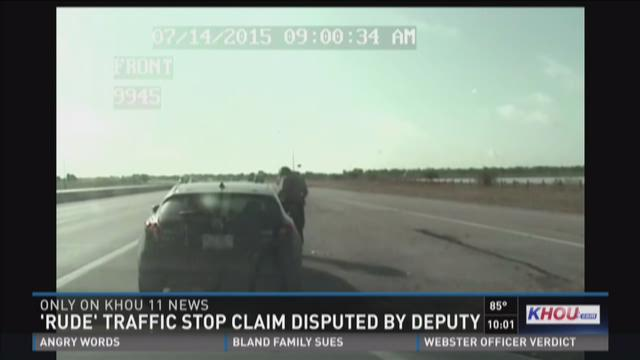 Dash cam video released of state rep's traffic stop