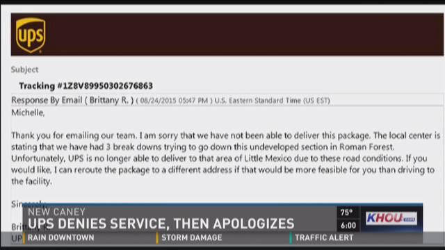 Ups Customer Considers Service Cancellation Racist