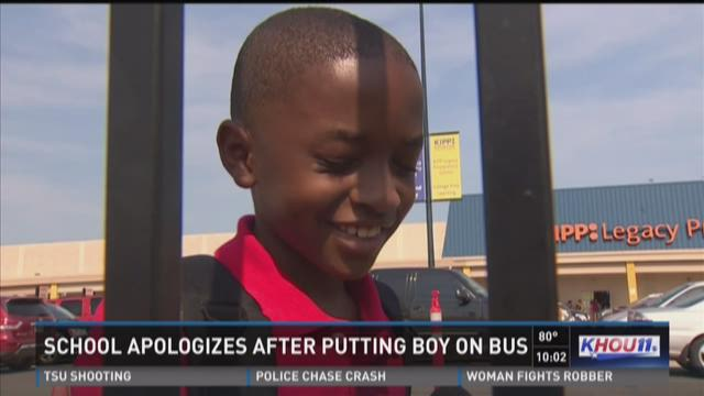 School apologizes after boy goes missing