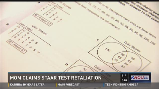 A local mom claims her sons' school won't let them enroll because they opted out of the STAAR test last year.