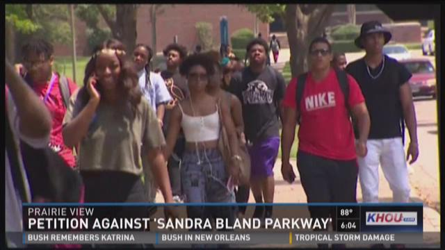 Petition against 'Sandra Bland Parkway'