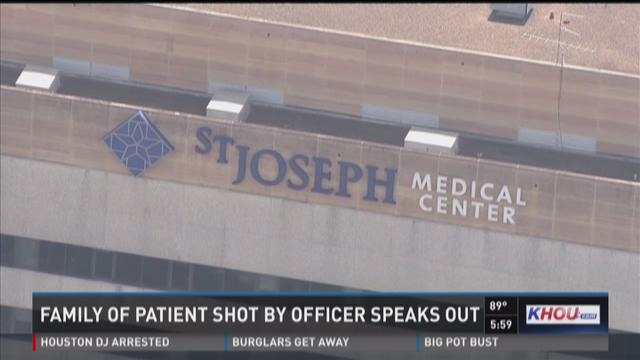 Family of patient shot by officer speaks out