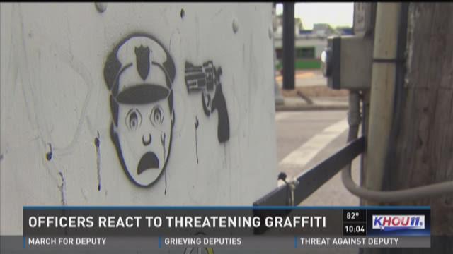 Police, community react to disturbing graffiti
