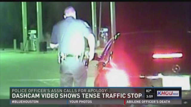 Pearland Police release dash cam video involving former Oilers star