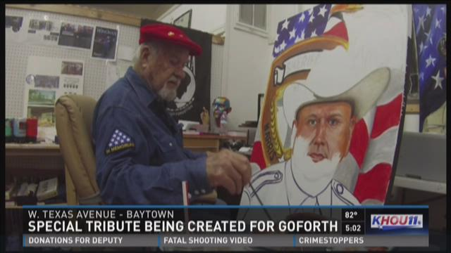 Special tribute being created for HCSO Deputy Goforth