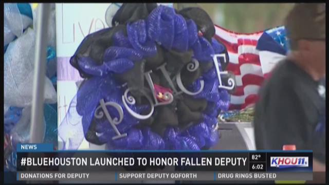 Blue Houston launched to support fallen deputy