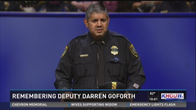 YouTube video pays tribute to Deputy Darren Goforth