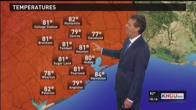 KHOU Chief Meteorologist David Paul's Labor Day Weekend Forecast