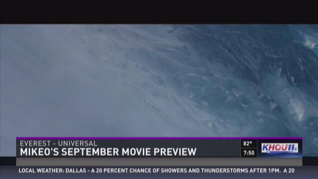 Movie Minute with MikeO: September movie preview