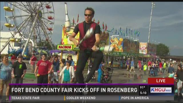 Fort Bend County Fair Kicks Off In Rosenberg
