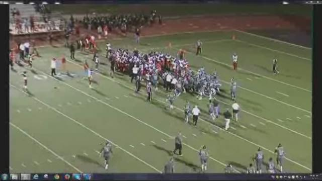 Spring vs. Westfield bench-clearing fight