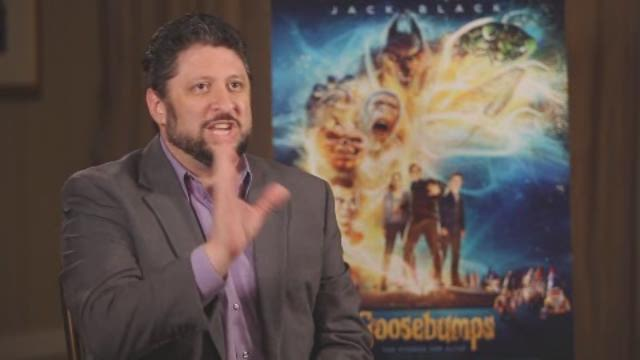MikeO sits down with Jack Black and the cast of the new movie 'Goosebumps.'