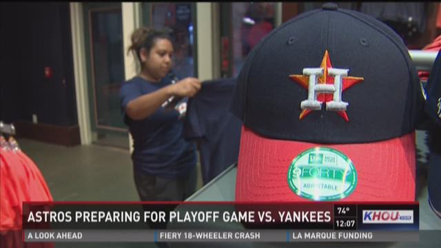 More Astros playoff merchandise on the way