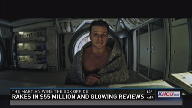 'The Martian' wins big at box office