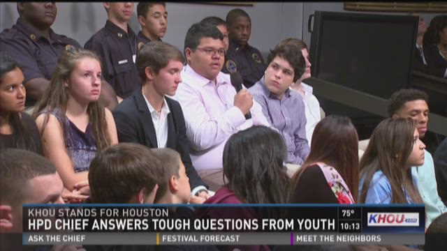 HPD chief answers tough questions from youth