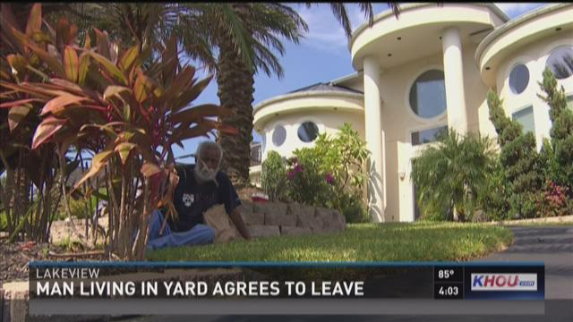 Bizarre standoff ends: Man forced to leave million-dollar home