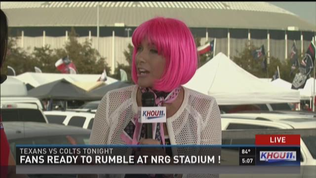 Thursday is Pink Out at Texans game