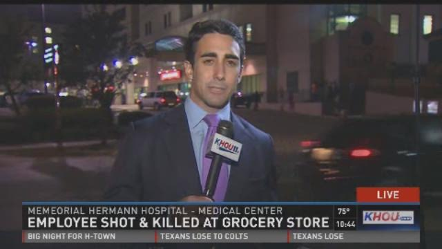 Employee shot & killed at grocery store