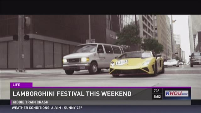 Need For Speed: Lamborghini Festival in town this weeken