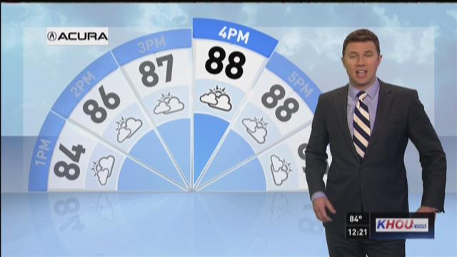 Houston's Friday afternoon forecast