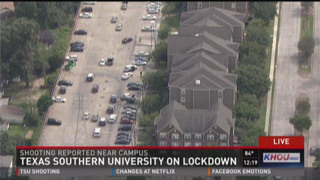 Texas Southern University on lockdown
